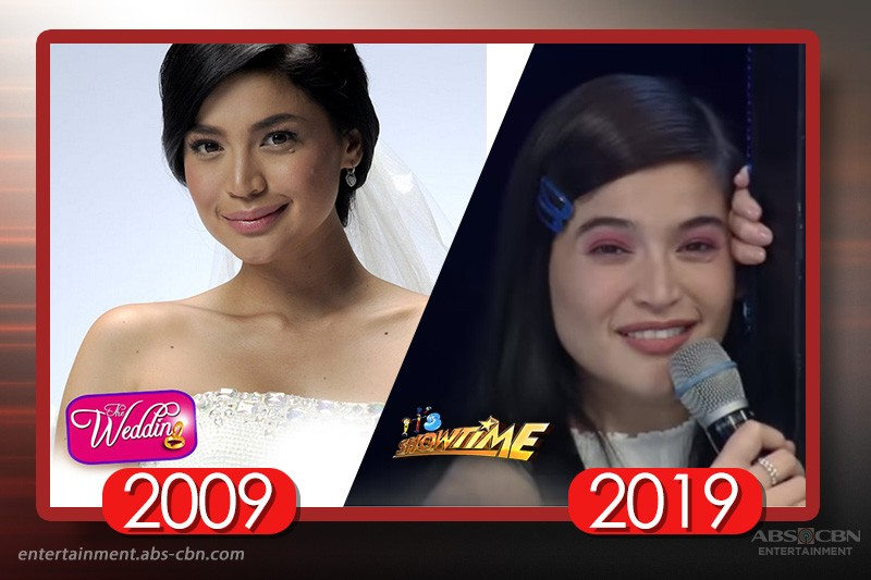 """LOOK: Stars face """"How Hard Did Aging Hit You"""" Challenge as seen on 2009 and 2019 Kapamilya programs"""