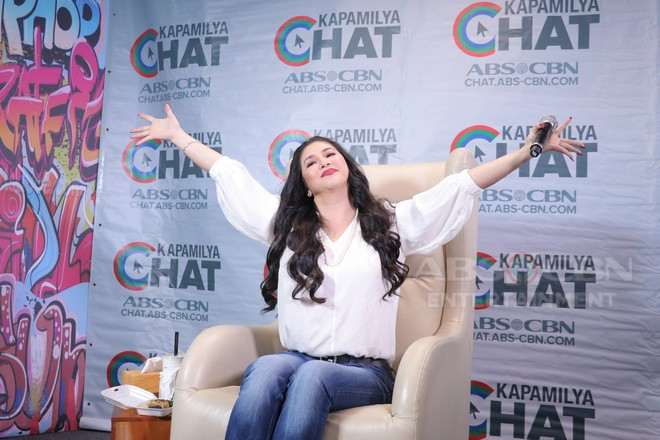 LOOK: The other side of Regine Velasquez-Alcasid on Kapamilya Chat