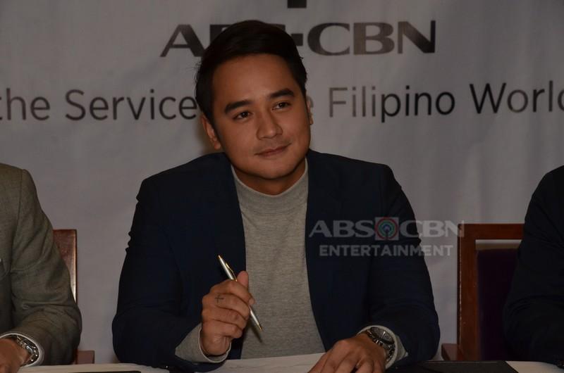 PHOTOS: JM de Guzman renews contract with Kapamilya Network
