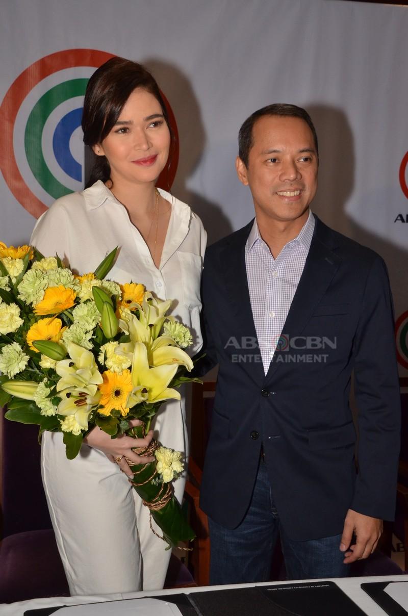 PHOTOS: Bela Padilla remains a Kapamilya