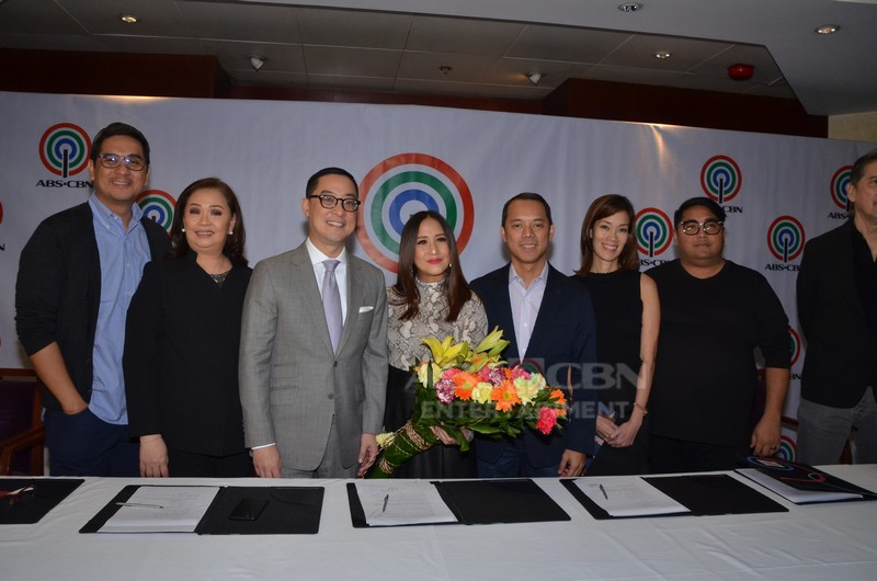 PHOTOS: Jolina Magdangal's contract signing with ABS-CBN