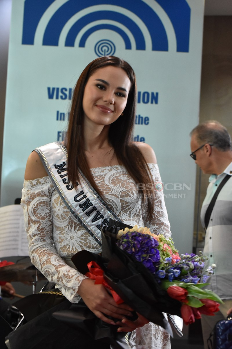 PHOTOS: ABS-CBN welcomes Miss Universe 2018 Catriona Gray
