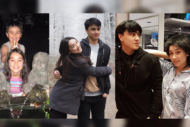 PARTNERS IN CRIME: Just Edward's cute moments with his gorgeous sister!