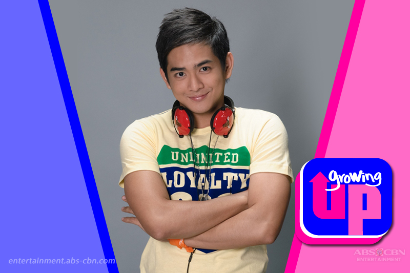 Neil Coleta as Tikoy in Growing Up