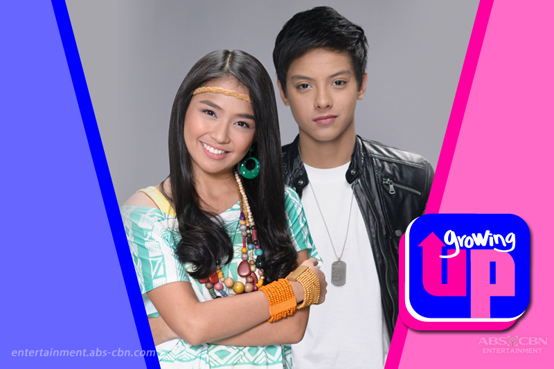 Kathryn and Daniel in Growing Up
