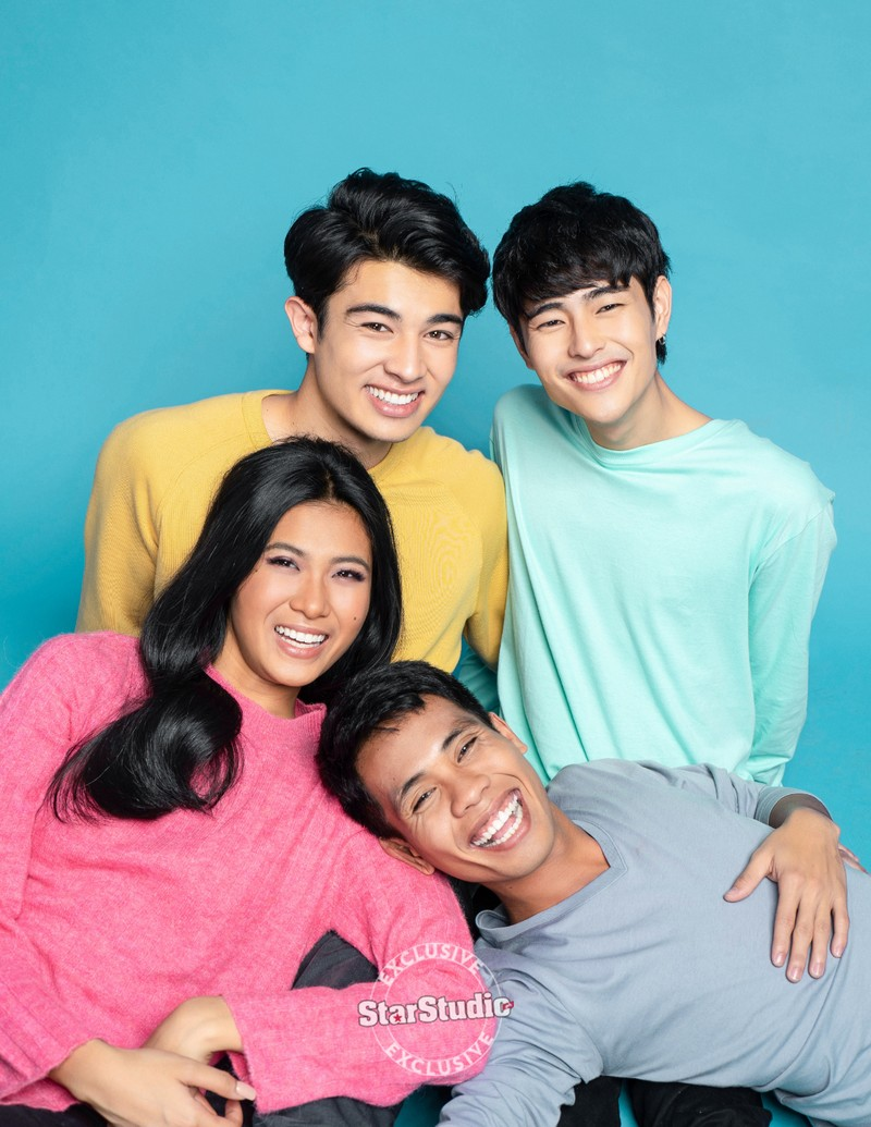 Team L.A.Y.F.'s Lou, Andre, Yamyam & Fumiya tell us their story of connection in a fun interview with StarStudio.PH