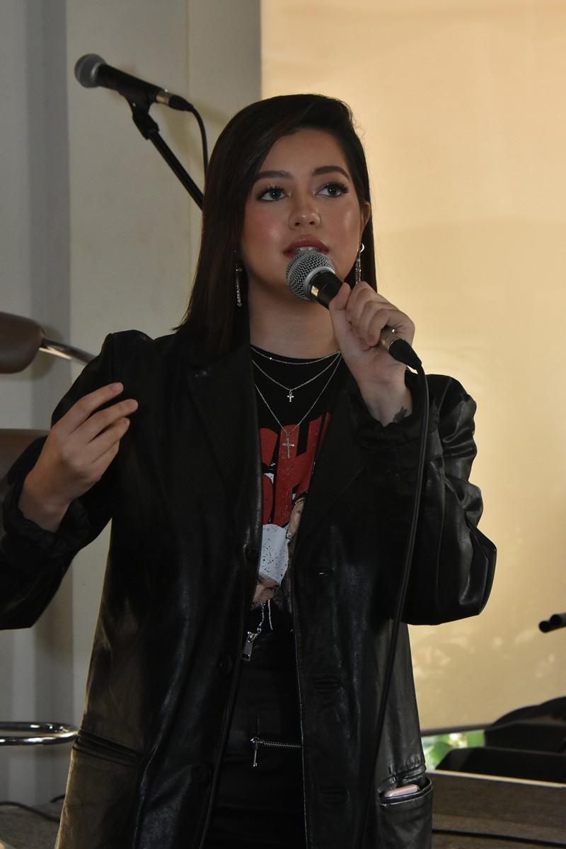 Sue Ramirez's first concert presscon