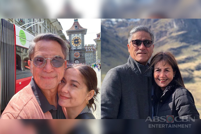 LOOK: Celebrity couples you would wish to grow old together