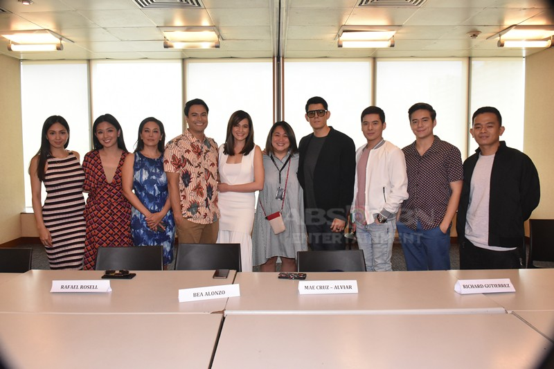 LOOK: Richard Gutierrez, Rafael Rosell, Jameson Blake, Christian Bables, and Bea Alonzo are teaming up for an upcoming family love series!