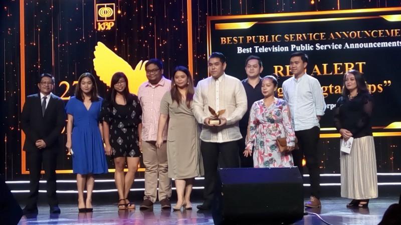 ABS-CBN, named Best TV Station in 27th KBP Golden Dove Awards