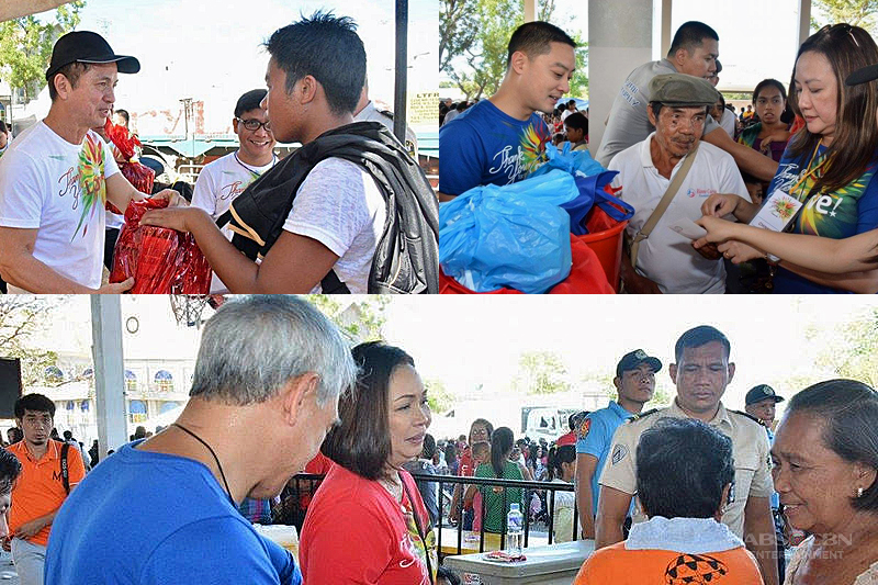 ABS CBN successfully holds Christmas gift giving to 1000 typhoon stricken families 1