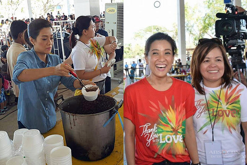 ABS CBN successfully holds Christmas gift giving to 1000 typhoon stricken families 2