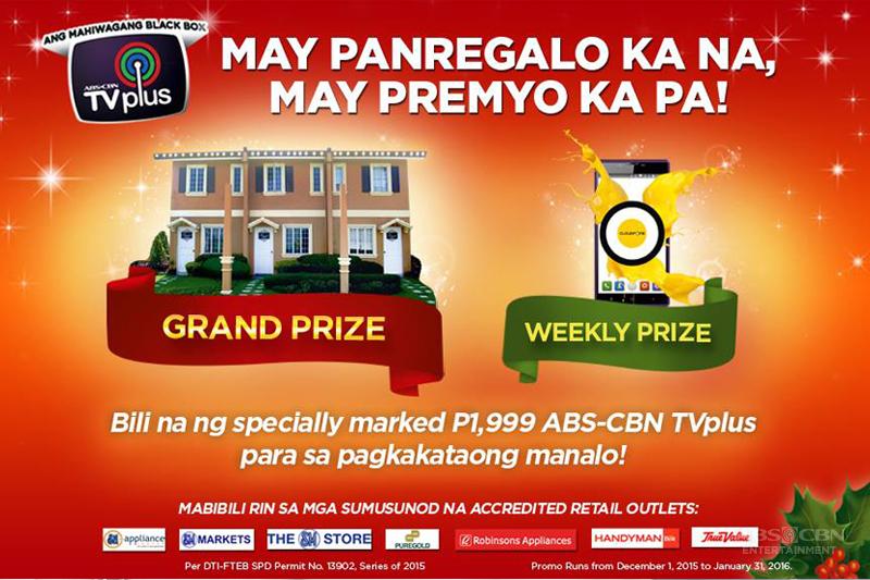 Mas Masaya ang Pasko sa House Lot na handog ng ABS CBN TVplus  1
