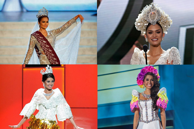 THROWBACK Miss Universe 2010 to 2014 1