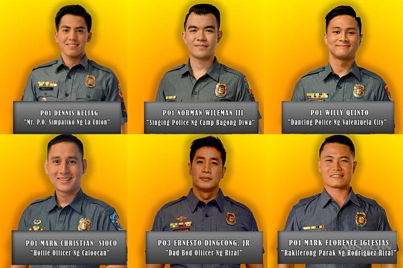 Cops Compete for Gwapulis title on Umagang Kay Ganda  1