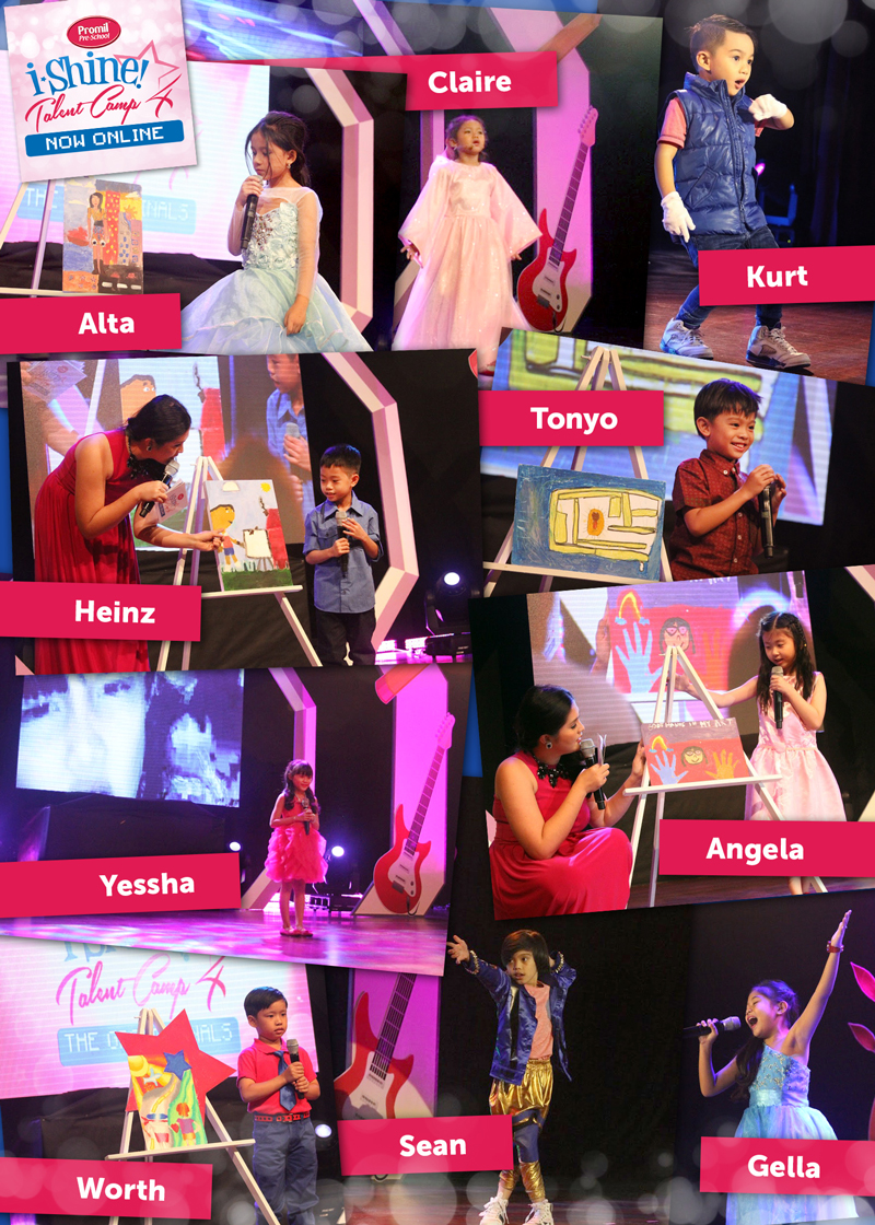 Shining Brightly The Top 10 i Shiners of Promil Pre School s Online Talent Camp 1