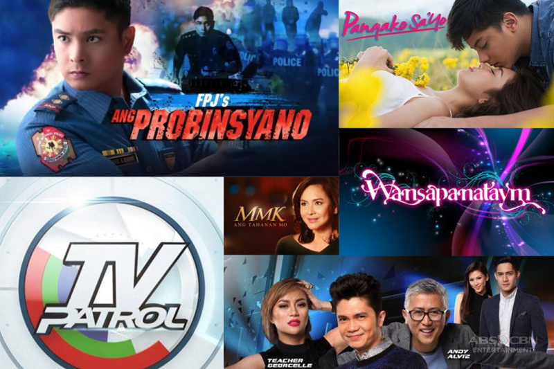 ABS CBN sweeps top 10 programs for the month of February 1