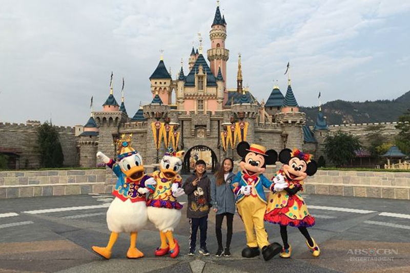 Lucky Aces joined a happily ever after celebration at Hong Kong Disneyland 10th Anniversary 1