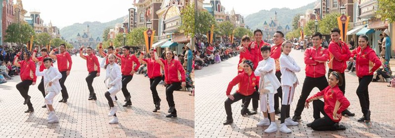 Lucky Aces joined a happily ever after celebration at Hong Kong Disneyland 10th Anniversary 2