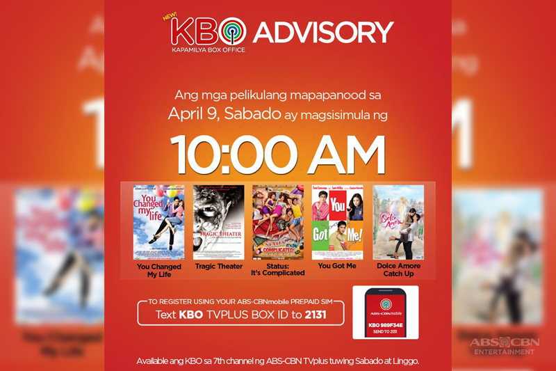 ABS CBN TVplus and ABS CBNmobile bring more free film screenings at home 1
