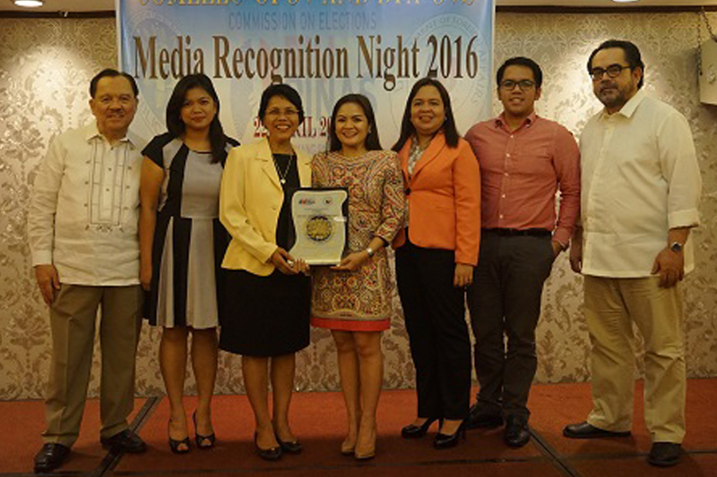 DFA and COMELEC recognize TFC for its continued support for overseas voting 1