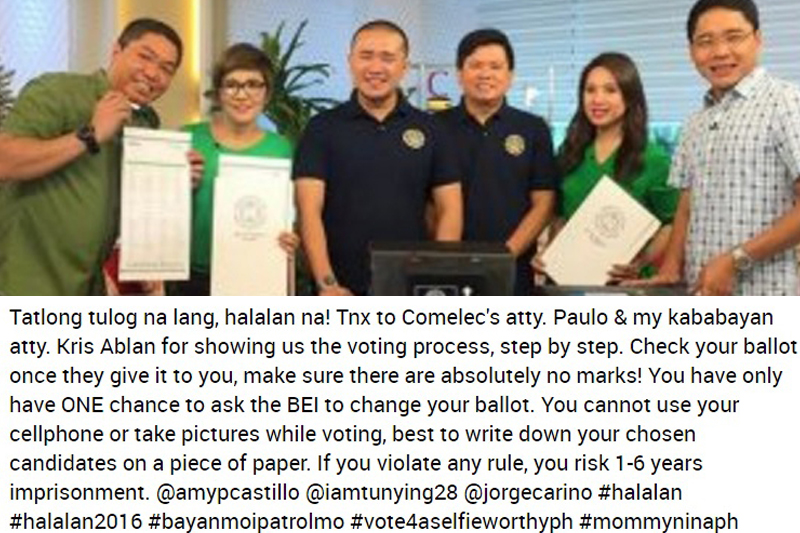 DFA and COMELEC recognize TFC for its continued support for overseas voting 6
