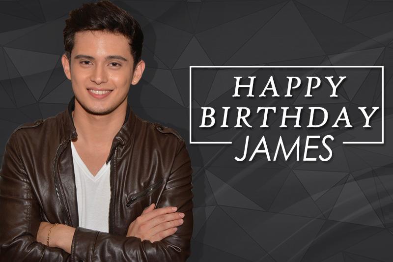 Happy Birthday James Reid  1