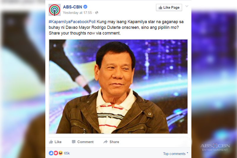 If Someone Would Play Duterte on Screen Who Would It Be  3