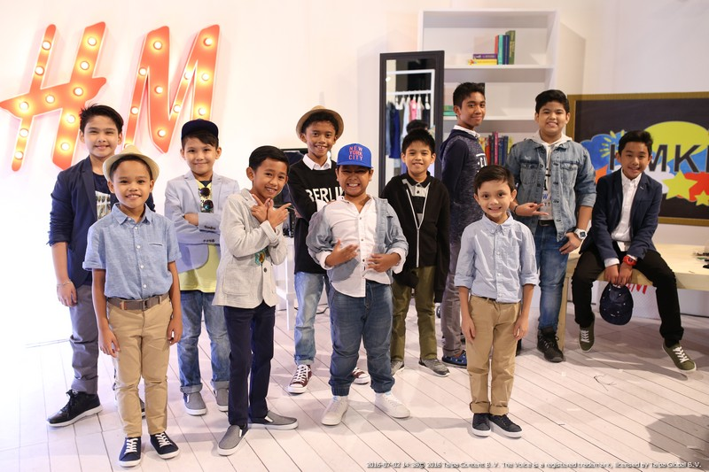 LOOK The Voice Kids as the young ambassadors of H M Kids 3