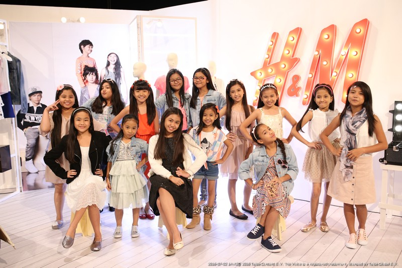 LOOK The Voice Kids as the young ambassadors of H M Kids 2