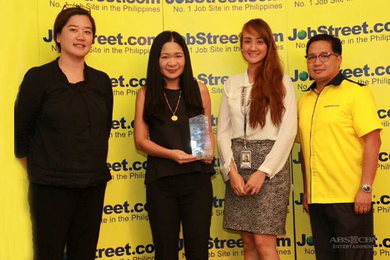 ABS CBN emerges as the only media and entertainment company in JobStreet s Top Companies for 2016 2