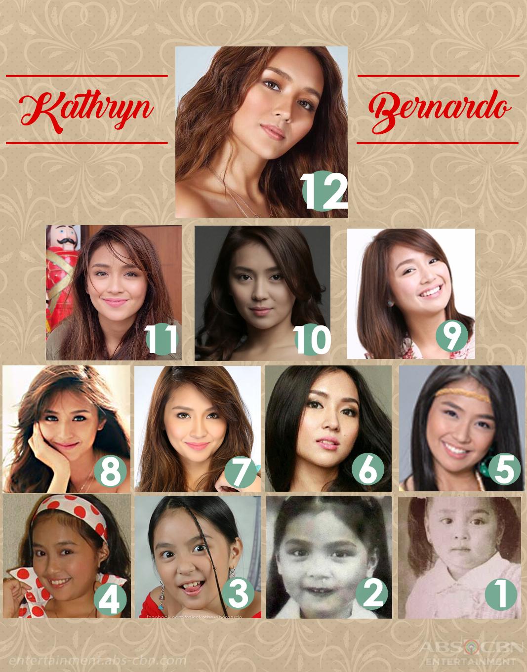 LOOK Kathryn Bernardo through the years 1