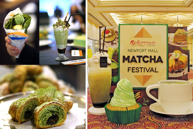 Green is in at Resorts World Manila s Matcha Festival 1
