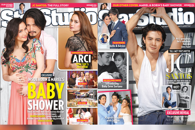 Super hot JC Santos on the cover of Star Studio November issue 1