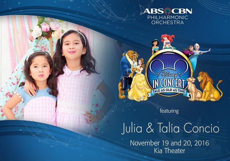 Janella Kapamilya singers take center stage in Disney Concert 2