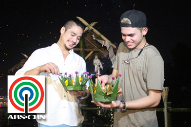 "Piolo and Inigo Pascual bond over food in Chiang Mai, Thailand in the second season of lifestyle's ""The Crawl"""