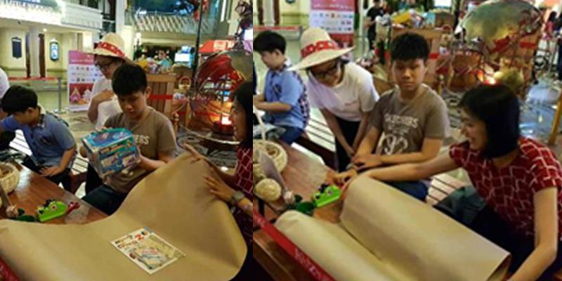 Kids experience the Christmas spirit with KidZania Manila s Paskong Kai Saya 2