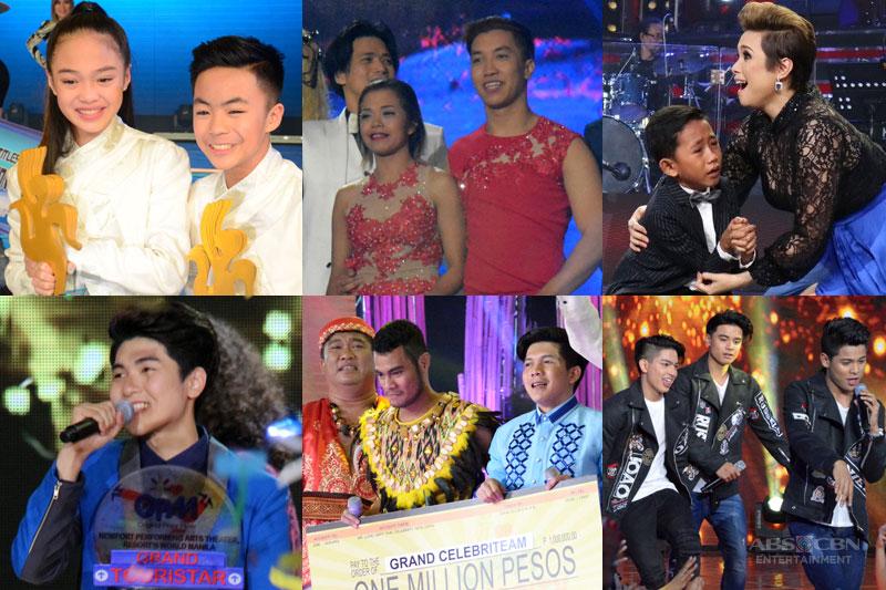 Paandar 2016 Unforgettable winning moments on 2016 Kapamilya reality shows 1