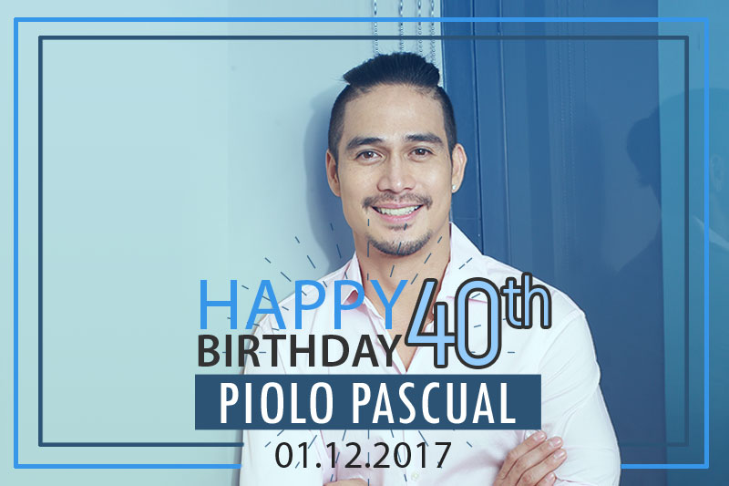 MrUltimate Happy 40th birthday Piolo  1