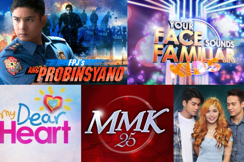 ABS CBN kicks off 2017 on top promotes values to viewers nationwide via hit programs 1