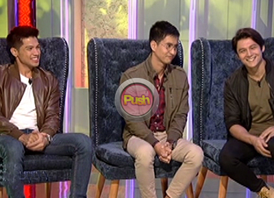 Vin Abrenica, RK Bagatsing, Joseph Marco admit they feel intimidated by Maja Salvador
