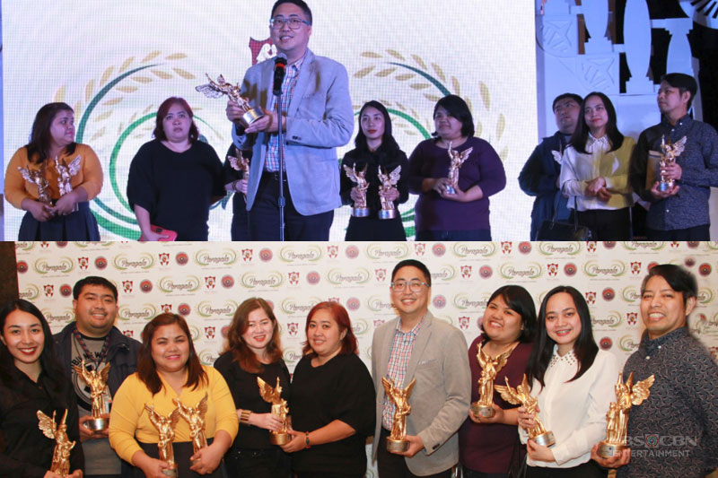Central Luzon students pick ABS CBN as Best Nat l Tv Station for 4th consecutive year at Paragala Awards 1