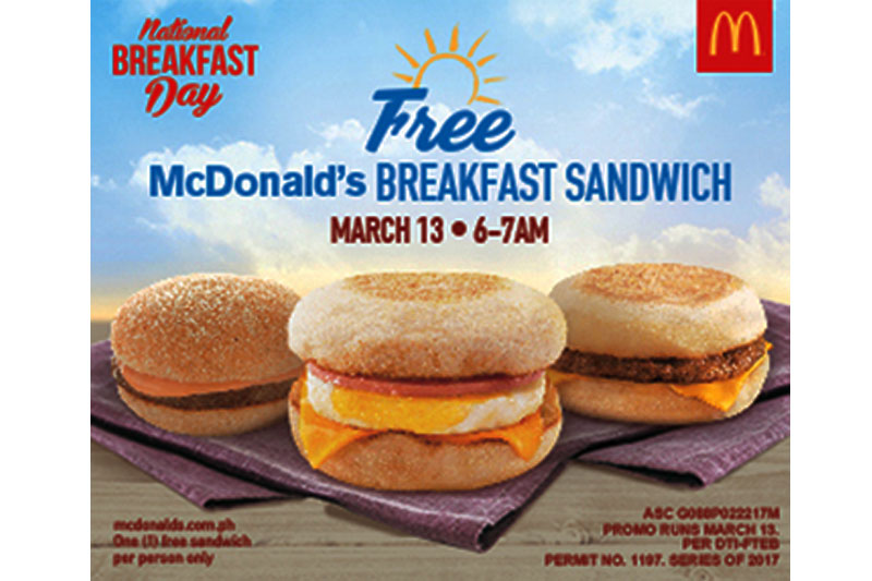McDonald s celebrates National Breakfast Day on March 13 with Enrique Gil McLisse and more  1
