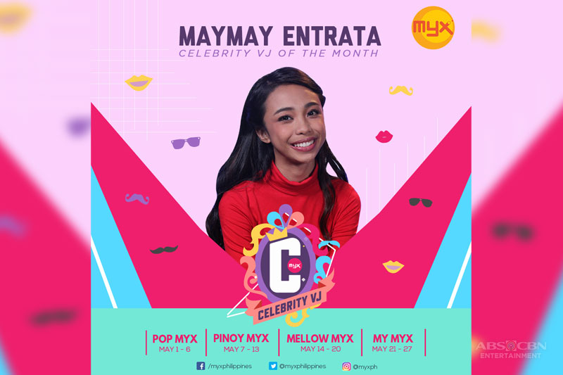 Maymay is Myx celebrity VJ for May 1