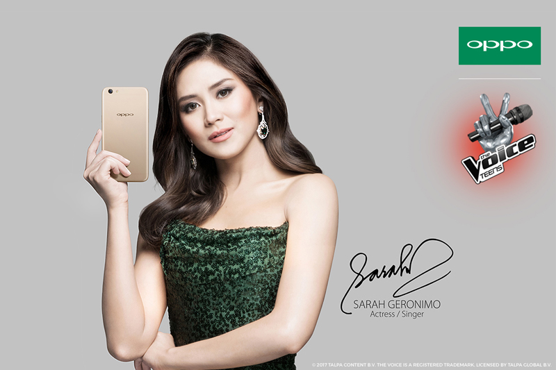 Exclusive OPPO F3 Plus to capture the Best Moments of The Voice Teens hopefuls  1