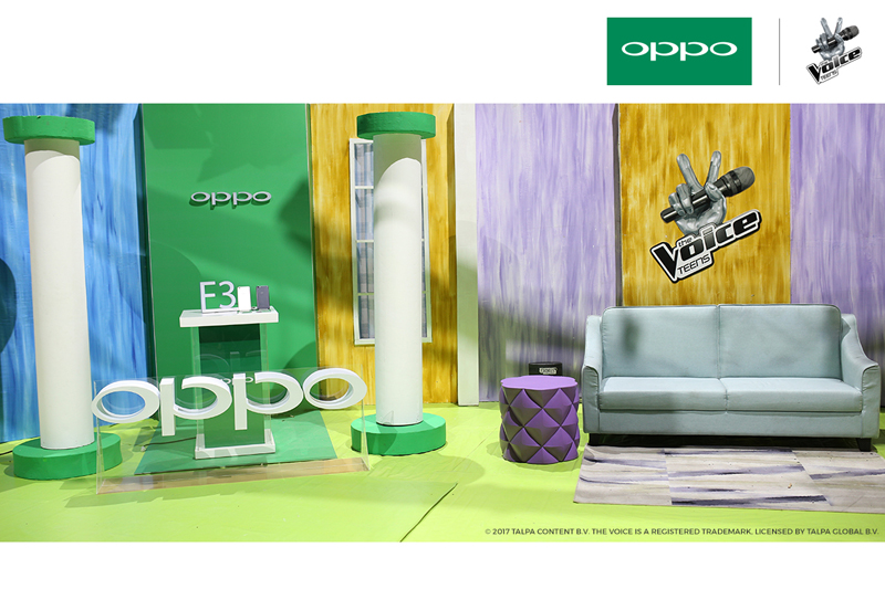 Exclusive OPPO F3 Plus to capture the Best Moments of The Voice Teens hopefuls  2
