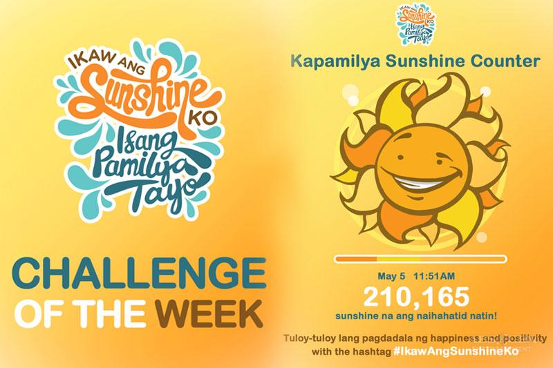 LOOK Kapamilyas share what make them smile with IkawAngSunshineKo Challenge  1