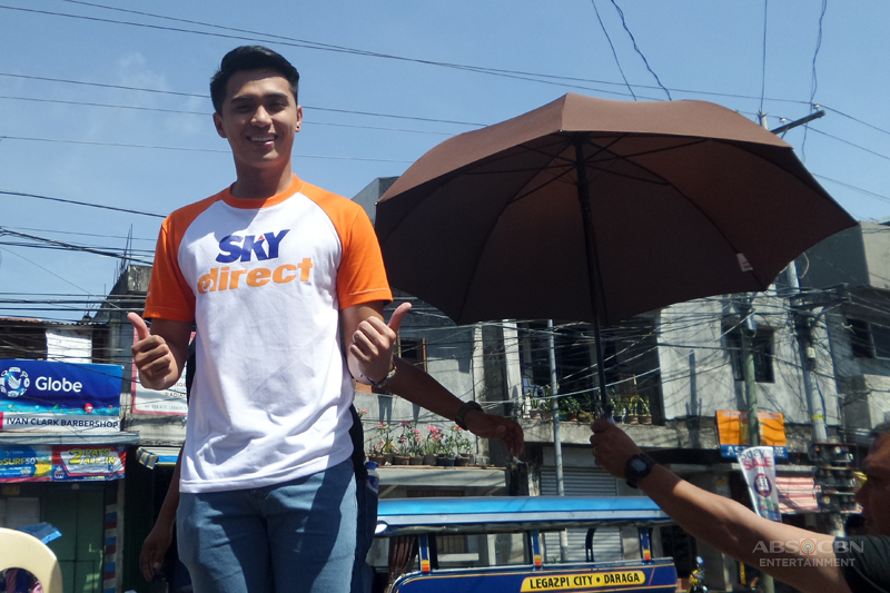 Skydirect invades Bicol with Marlo Mortel 1