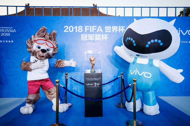 Vivo Becomes Official Sponsor of the 2018 and 2022 FIFA World Cup  1