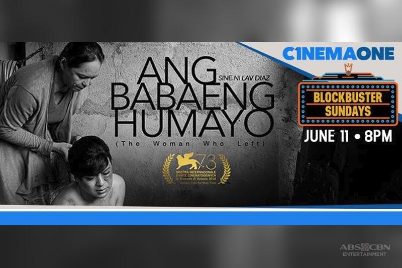 Ang Babaeng Humayo debut on Cinema One 1